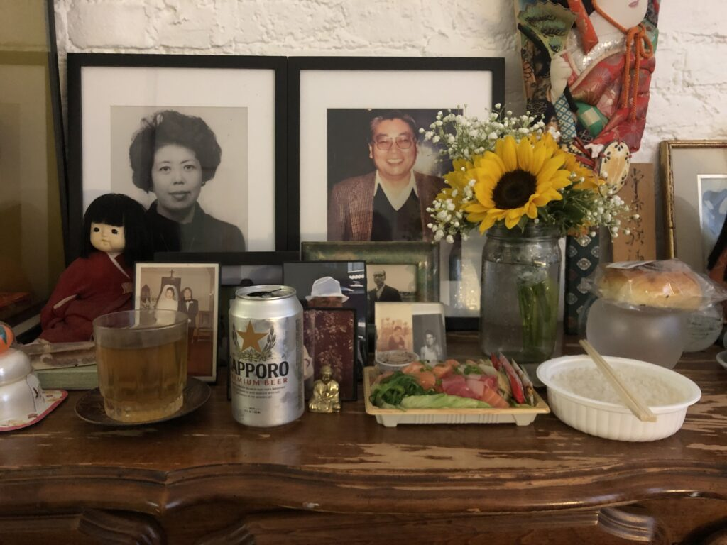 Papa's B-Day Altar